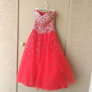 Dresses & Skirts - Prom/Homecoming Quinceanera Dress S 3/4 NWT